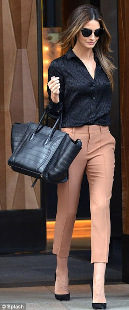 Bagfetishperson Lily Aldridge And Celine Phantom Black