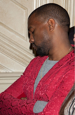 kanye west sleeping kim kardashian birthday