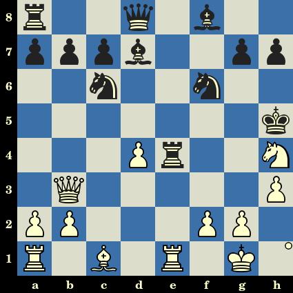 Les Blancs jouent et matent en 6 coups - Victor Kupreichik vs Albin Planinc, Sombor, 1970