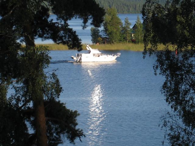 järvi, vene, luonto