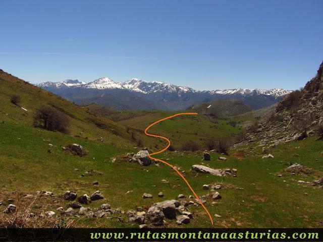 Valle de Covachos, en el Aramo