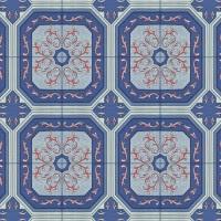 simili trải sàn màu xanh