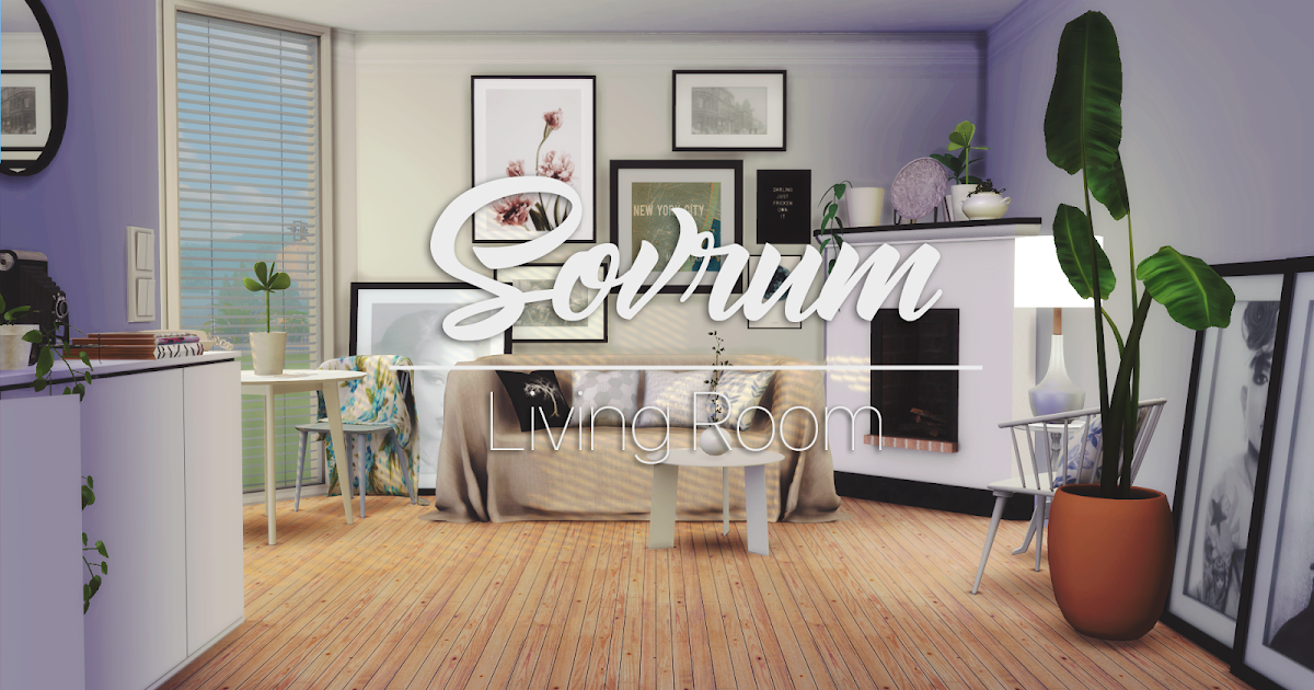 Sovrum Living Room UPDATED FOR CATS& DOGS