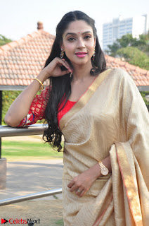 Angana Roy in Silk Saree at Teaching Tree Carnival .xyz 006.JPG