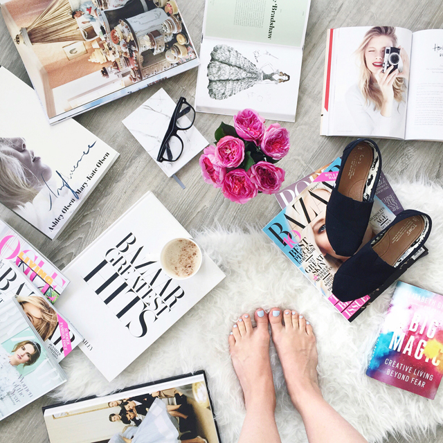 5 ways to stay inspired by Annawithlove | Coffee Table Books, Vignette, Styling