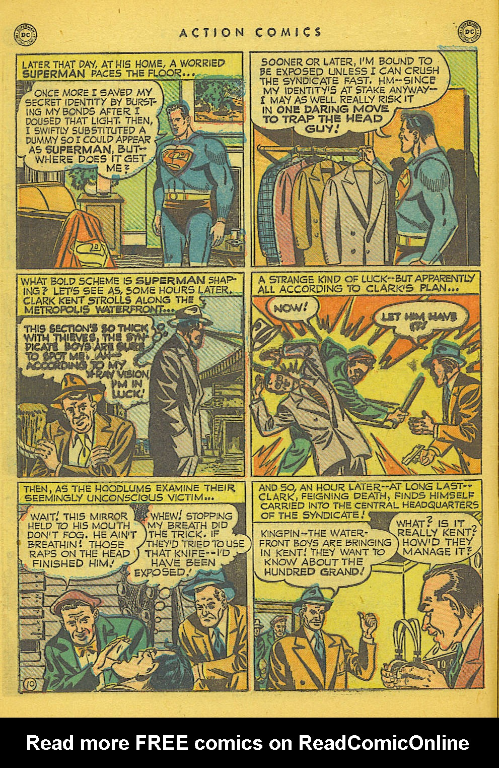 Action Comics (1938) 153 Page 10