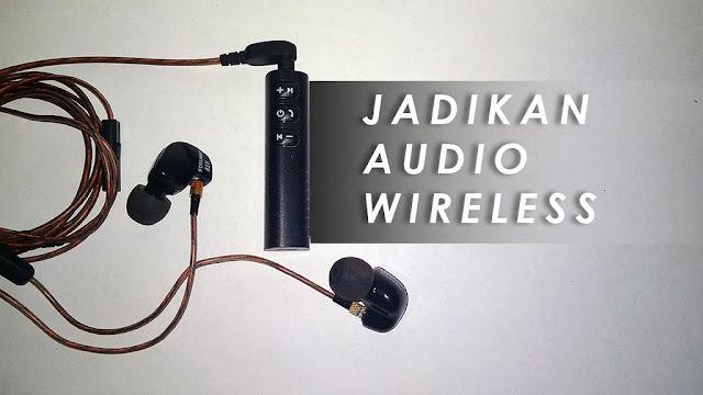 WIRELESS: Audio Bluetooth Receiver