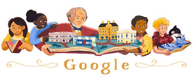 Google Doodle George Peabody