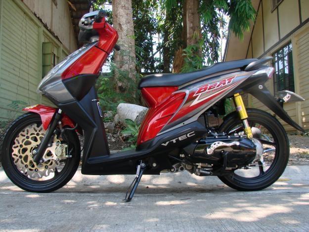 Variasi Motor Matic Honda Beat terpopuler