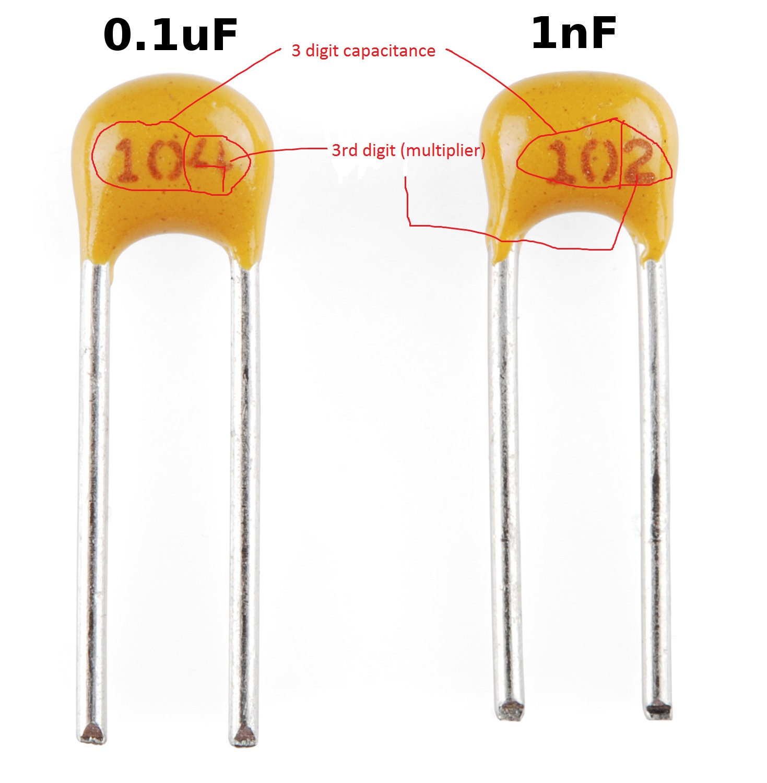 10pcs Paccom 1uF 50v Bipolar Non-polarized Axial Electrolytic Capacitor BP NP