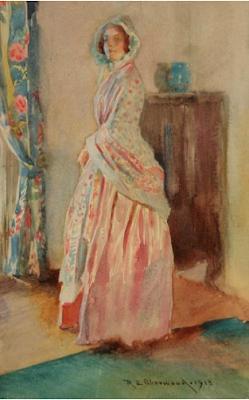 In the Parlor (1913), Rosina Emmet Sherwood