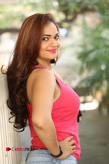 Tollywood Actress Ashwini Latest Stills in Ripped Jeans  0110.JPG