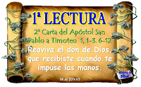 Resultado de imagen para Pablo, apóstol de Cristo Jesús por designio de Dios, llamado a anunciar la promesa de vida