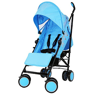 Zeta Citi Stroller Buggy Pushchair - Ocean