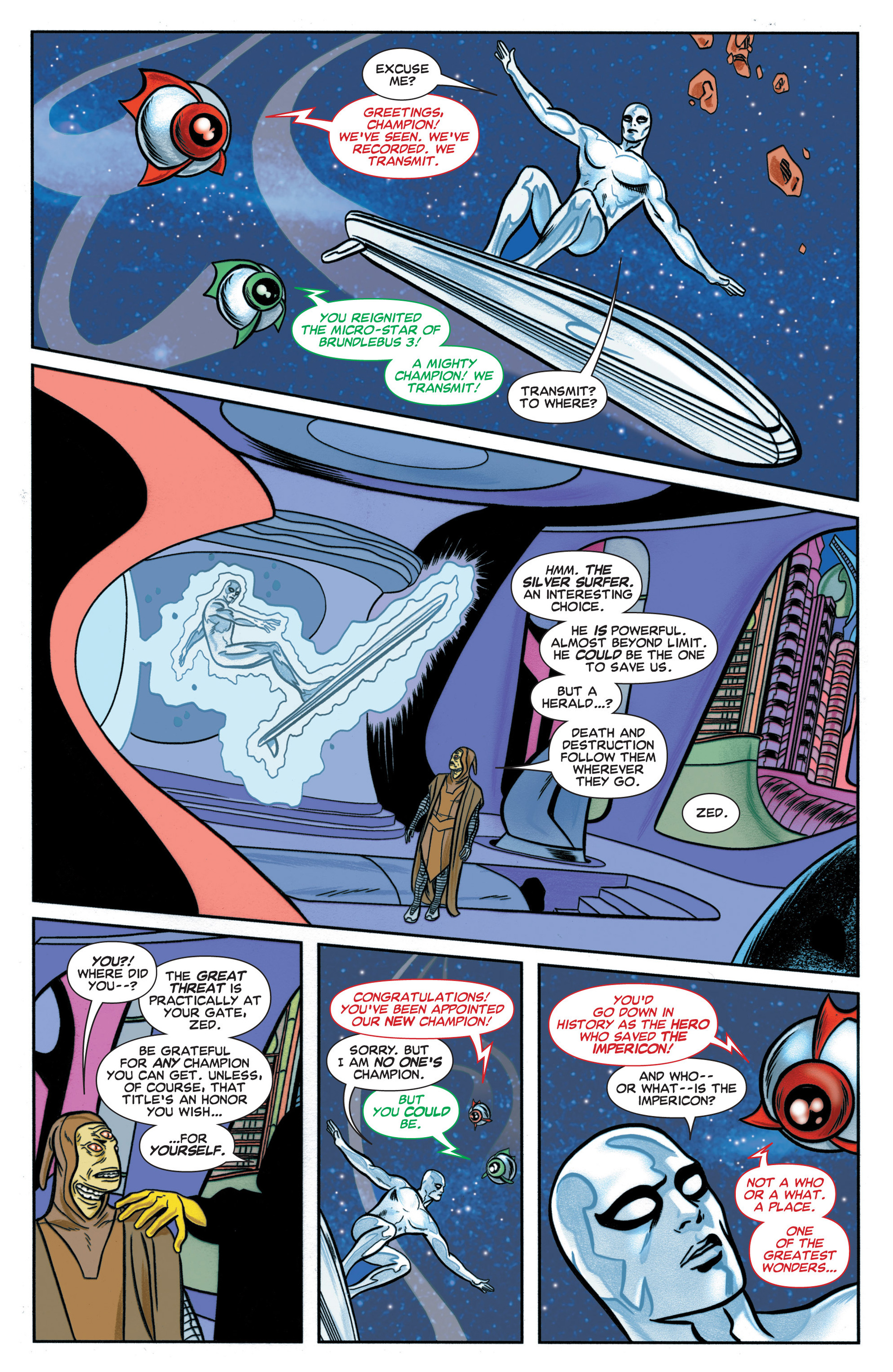 Read online Silver Surfer (2014) comic -  Issue #1 - 7