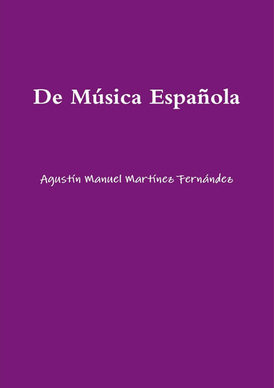 On Spanish Music