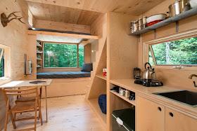 Casa pequeña en madera