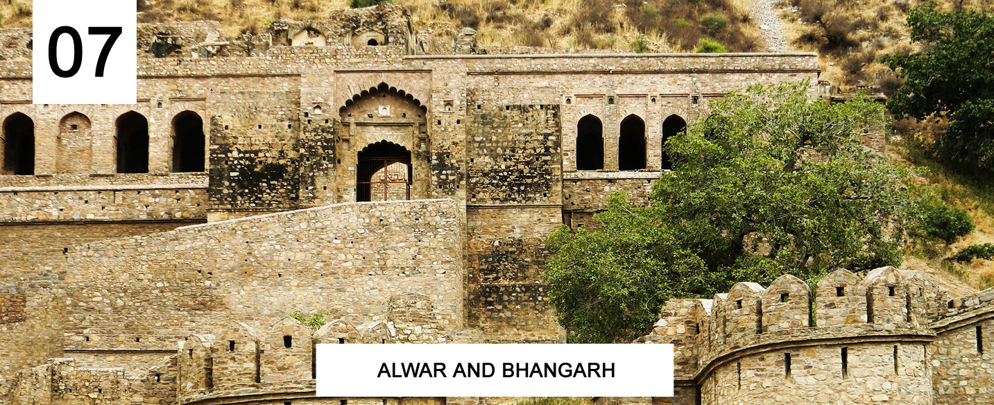 Alwar and Bhangarh