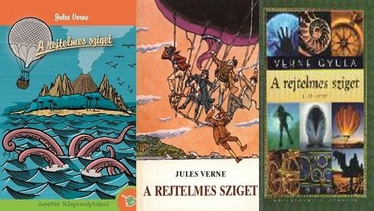 Jules Verne A rejtelmes sziget regény bemutatás