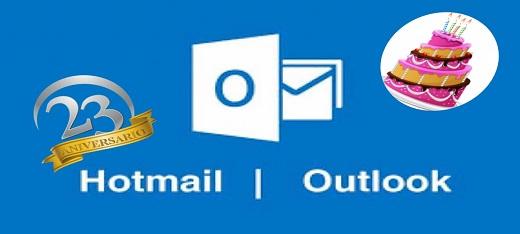 Hotmail de aniversario