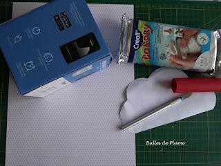 Bulles de Plume - DIY Pot nuage (rangement)