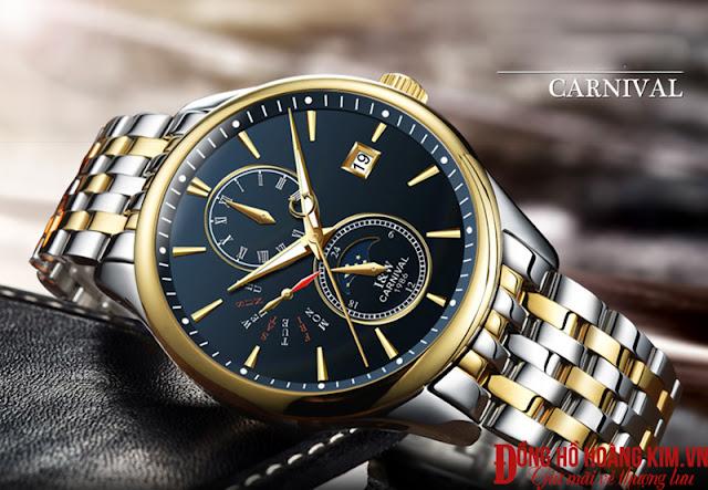 Những mẫu đồng hồ nam Carnival đáng mua nhất