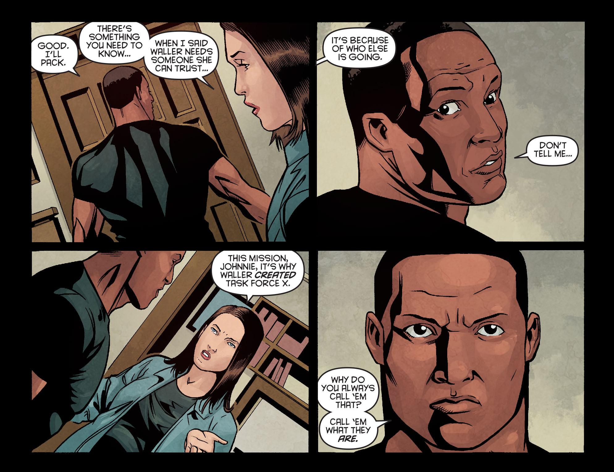 Read online Arrow: Season 2.5 [I] comic -  Issue #10 - 11