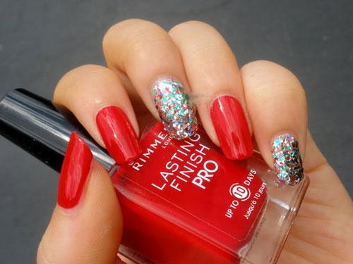 Three nail styles of 2Ne1's Minzy