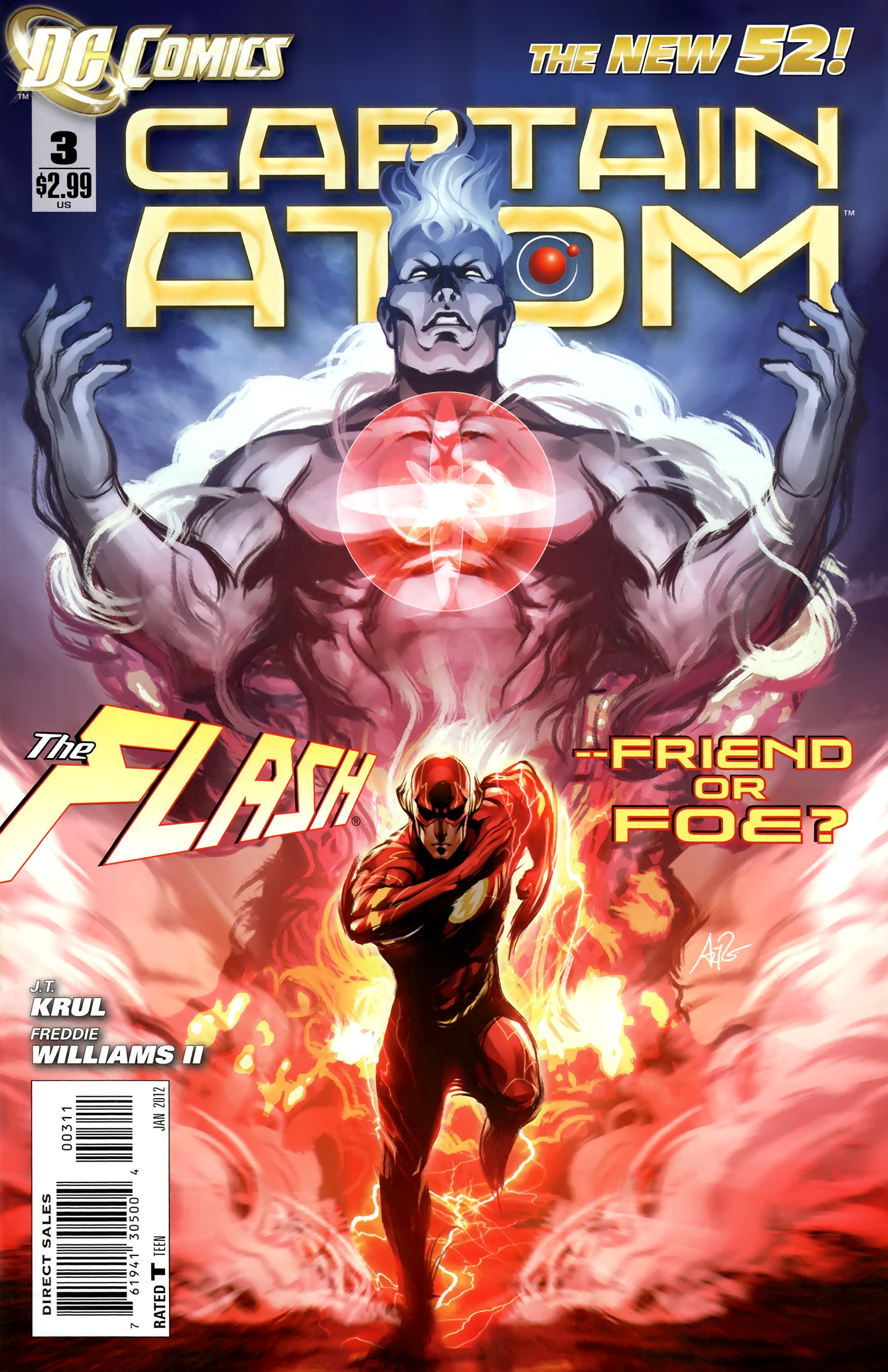 Captain Atom issue 03 - Page 1