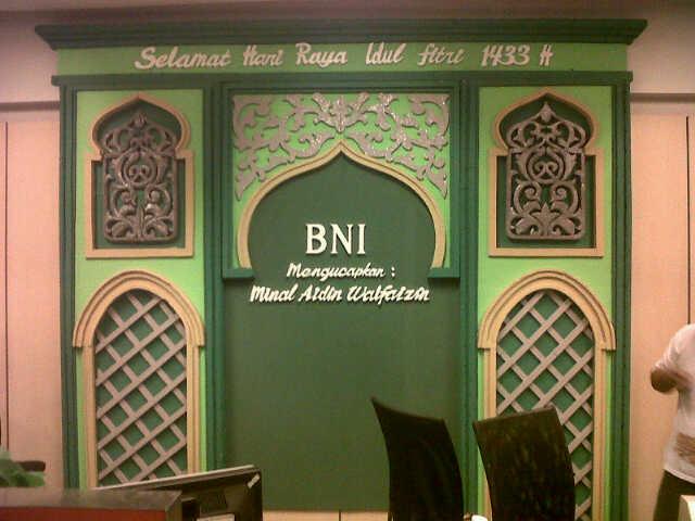 Dekorasi idul fitri, dekorasi lebaran, dekorasi puasa, dekorasi ramadhan