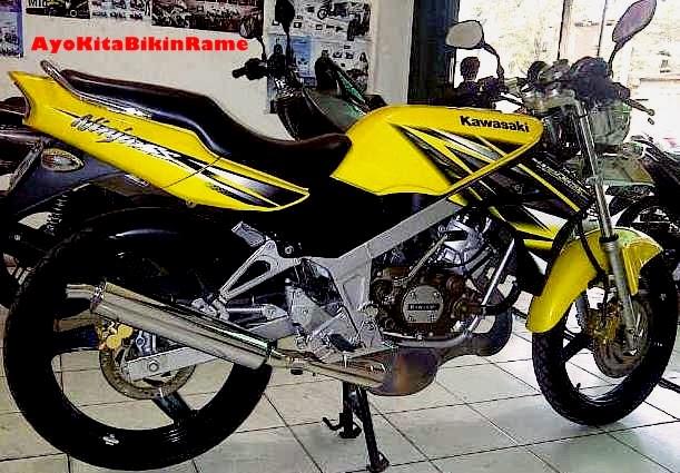 Gambar Kawasaki Ninja 150 SS Warna Kuning