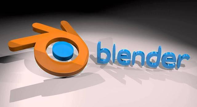 تحميل برنامج Blender للتصميم ثلاثي الابعاد