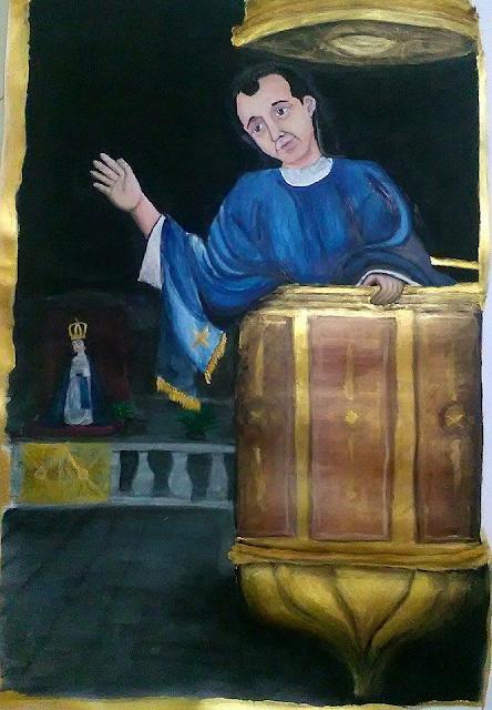 Pintura de Ricardo Casanova y Estrada