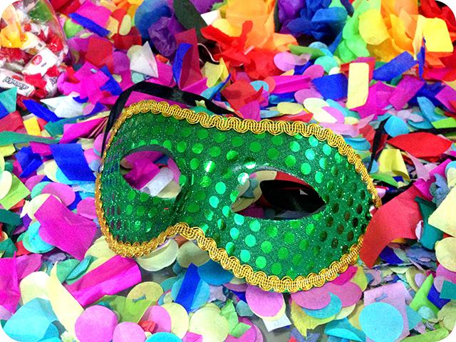 Decoração : Festa Carnaval - Mesa / Máscara