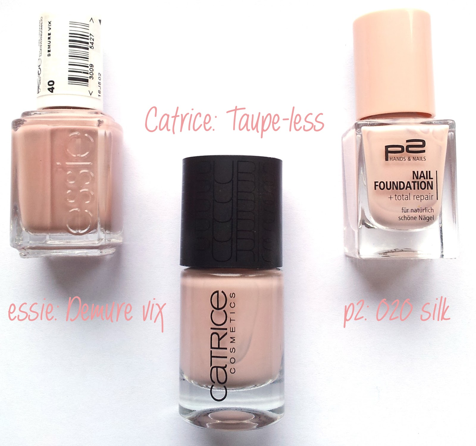 Catrice Nude purism nail laquer C01 Taupe-less Dupes essie p2