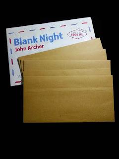toko sulap jogja Blank Night by John Archer