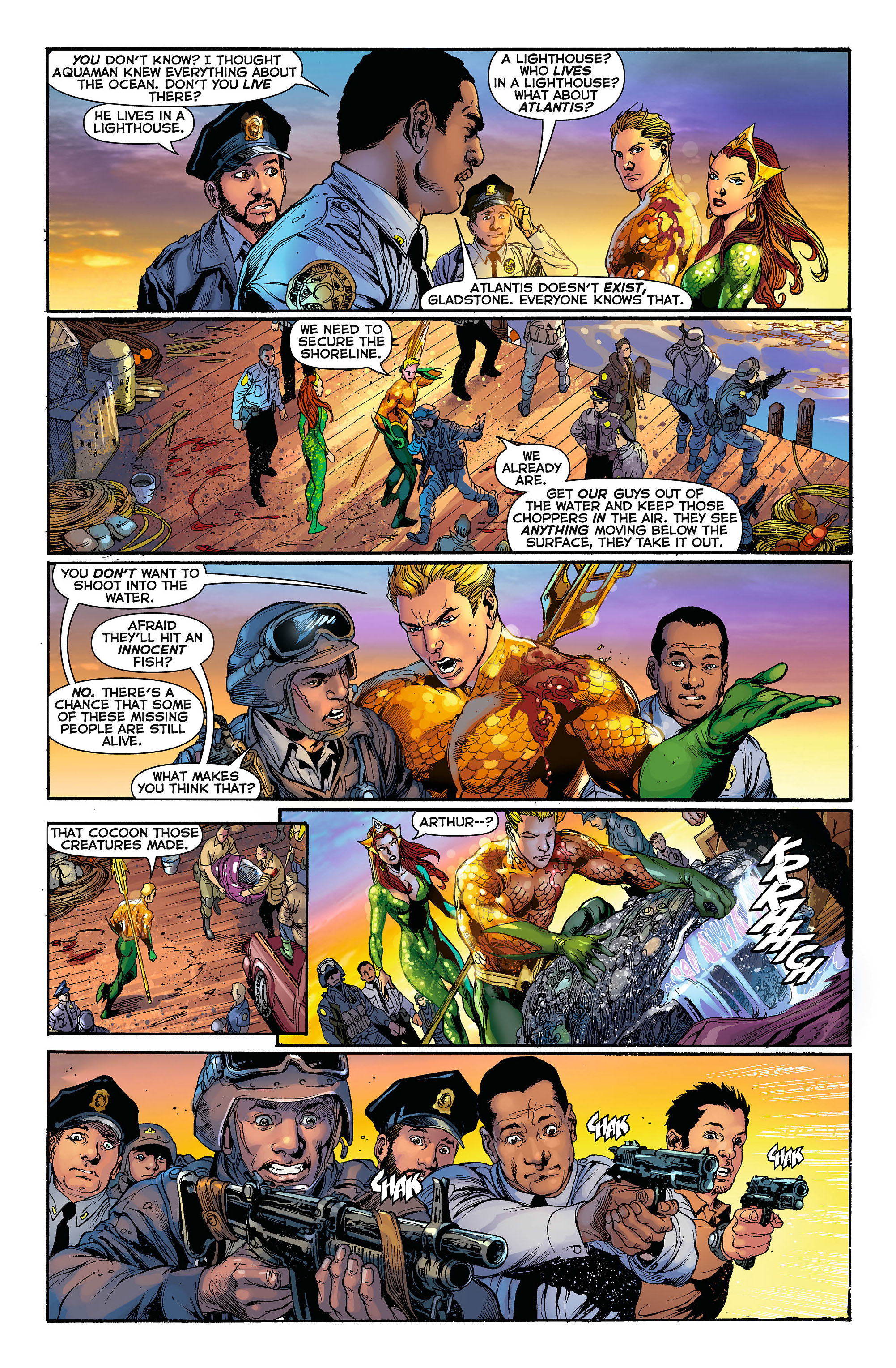 Read online Aquaman (2011) comic -  Issue #3 - 10