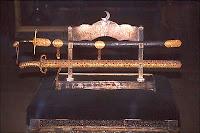 Kutsal Emanetlerden Peygamber Efendimiz'in kılıçları