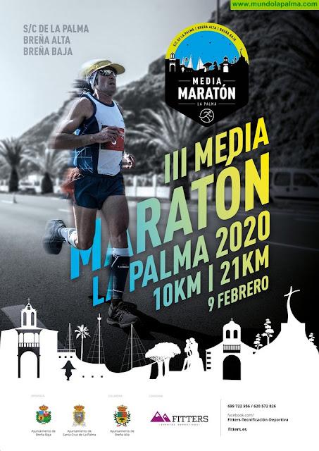 """LOS CANCAJOS: III Media Maratón """"La Palma 2020"""""""