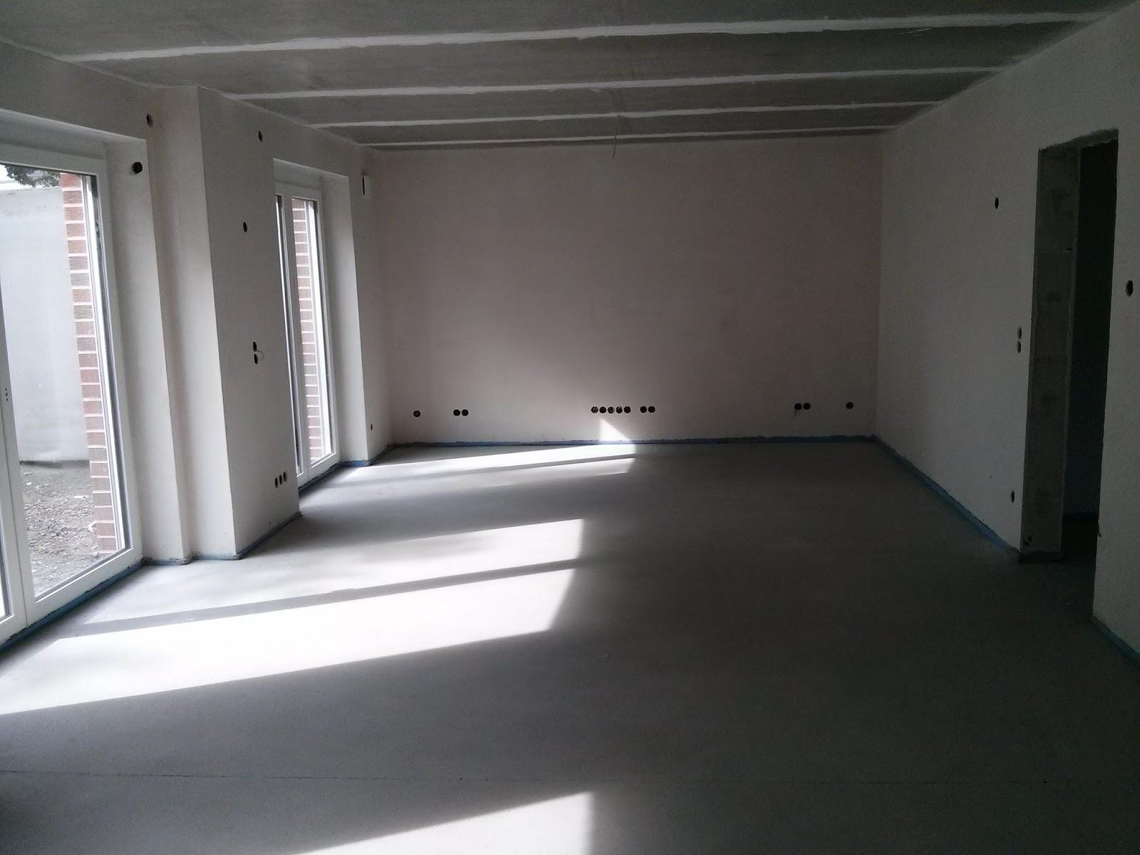 bautagebuch einfamilienhaus in waltrop altenbruch iii estrich und innenputz. Black Bedroom Furniture Sets. Home Design Ideas
