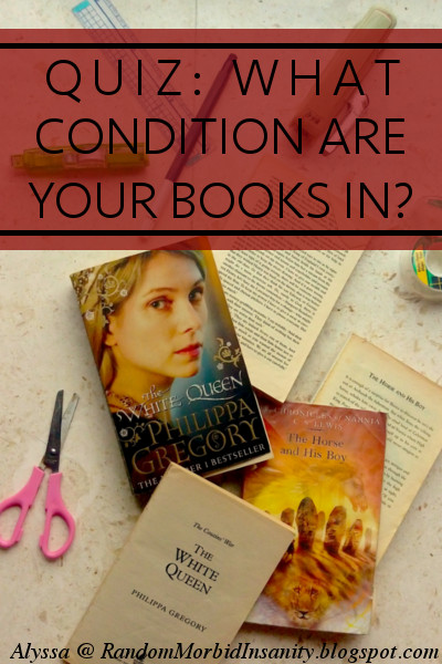 QUIZ: What condition are your books in?