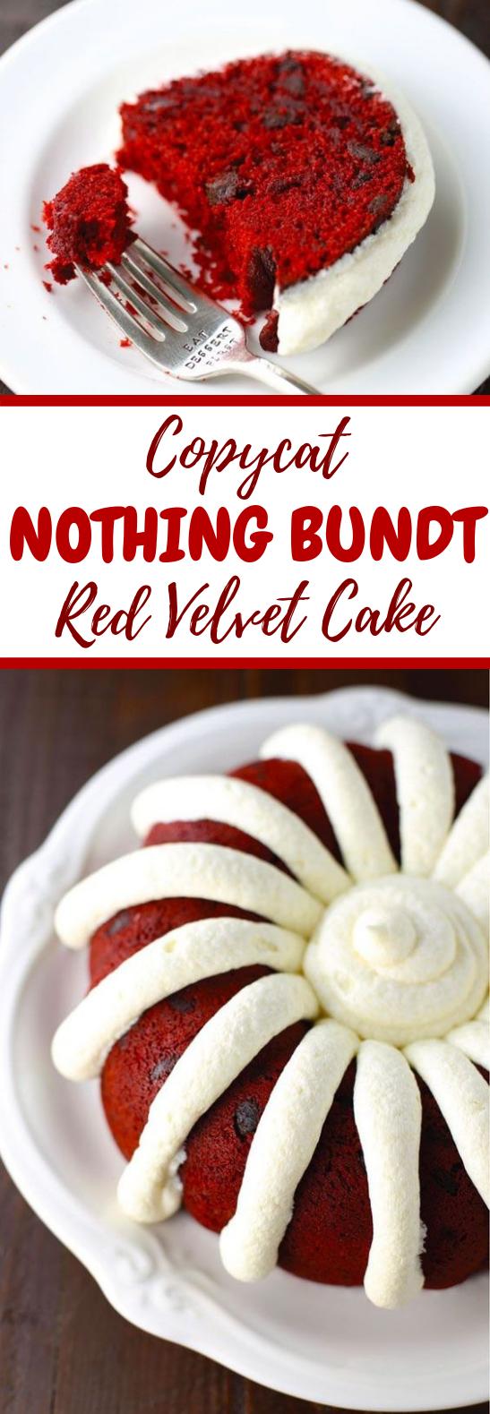 COPYCAT NOTHING BUNDT RED VELVET CAKE #Dessert #Baking