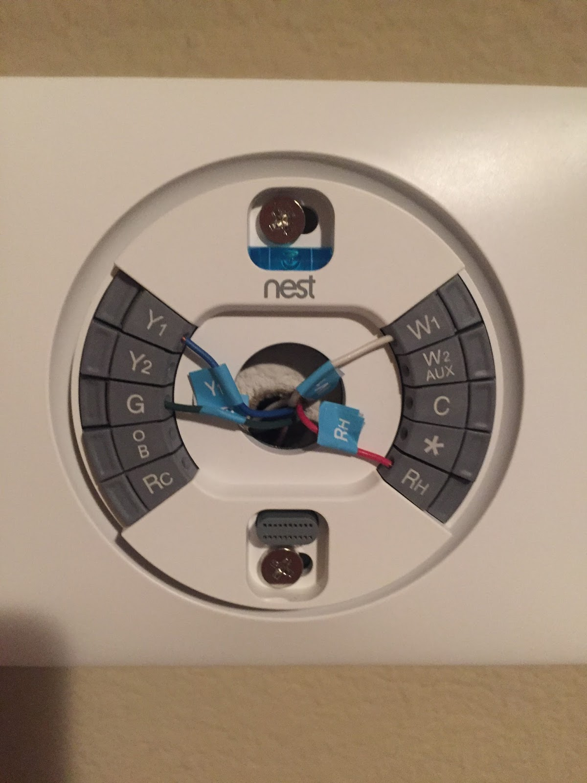 Home Owners Knowledge Share Connect Nest Learning Thermostat 3rd Furnace Wiring Gauge After I Turned The Power Back On At Breaker For And A C Entered My Wifi Information Chose 24 Ghz Signal