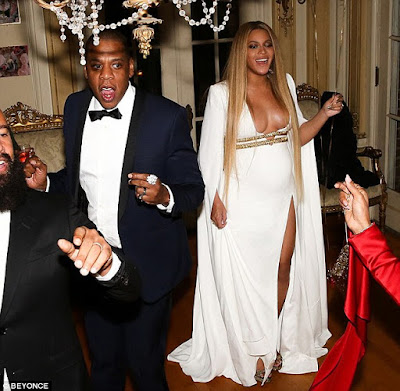 Beyonce shares photos from her very exclusive post-Grammy bash