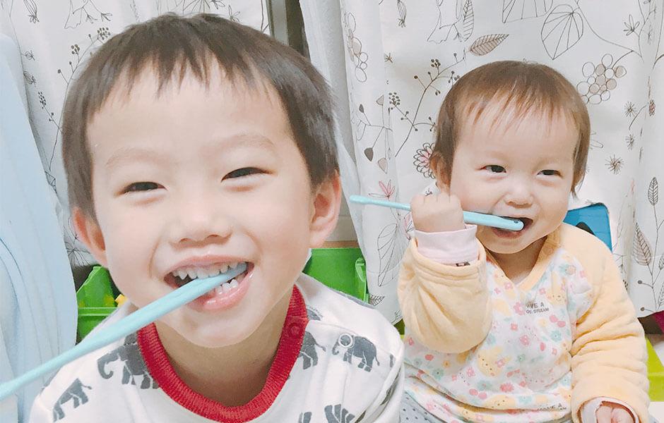 歯磨き撮影
