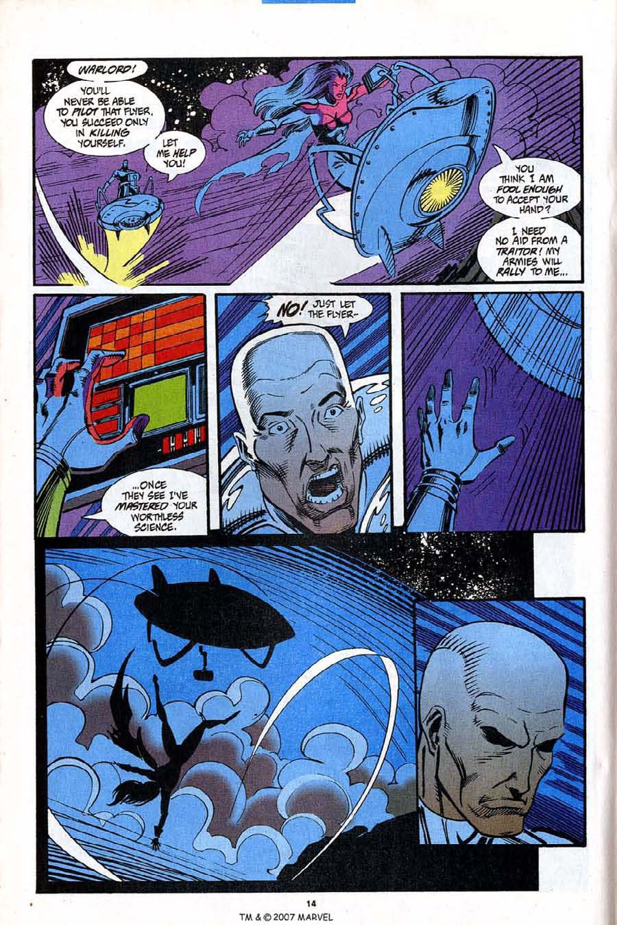 Read online Silver Surfer (1987) comic -  Issue #92 - 16