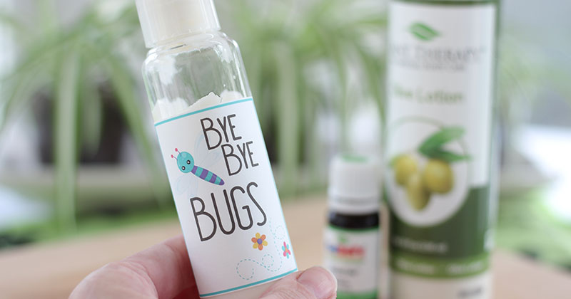 Easy Homemade Bug Lotion for the Whole Family (with Free Printable Labels)