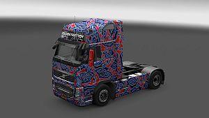 Batik skin for Volvo 2009