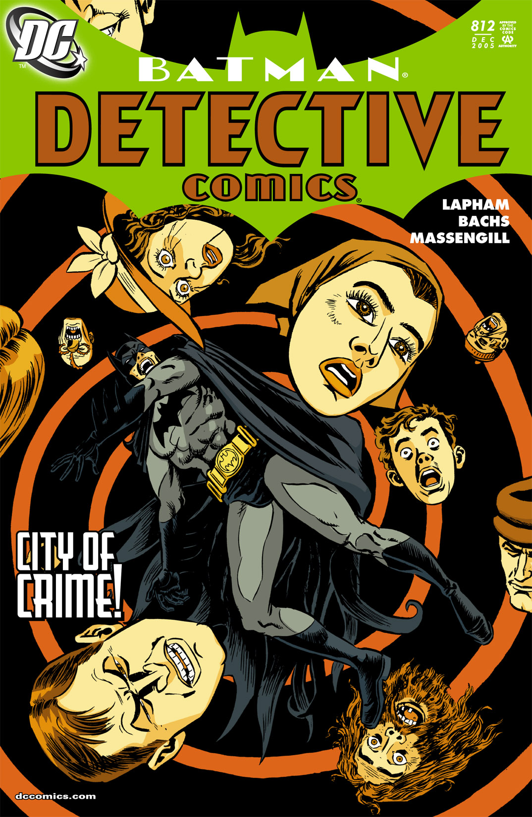 Detective Comics (1937) 812 Page 0