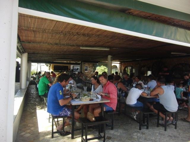 mesa restaurante Casa Chico Ze Algarve Portugal